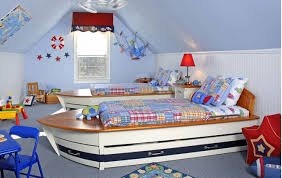 creative kids room furnished as boats livinator