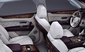 luxury bentley interior bentley bentayga