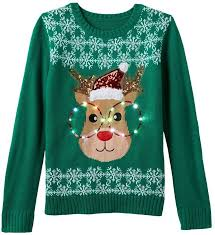 sweaters that light up light up reindeer sweater sweaters for