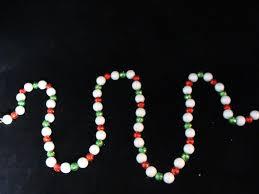 6 u0027 shimmering red white u0026 green holographic mini ball christmas