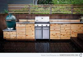 Outdoor Kitchen Cabinets 15 Awesome Contemporary Outdoor Kitchen Designs Home Design Lover