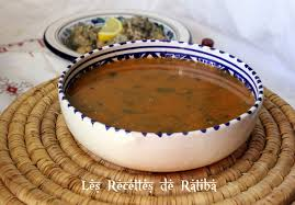 cuisine algerienne soupe au thym sauvage hrira zaater soupe d hiver