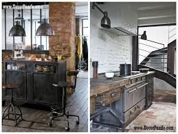 industrial style kitchen decor and furniture top secrets norma