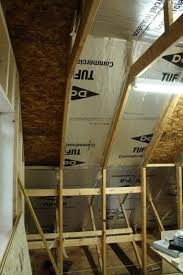Insulating Vaulted Ceilings by Insulating Cathedral Ceiling With Foam Board Home Construction