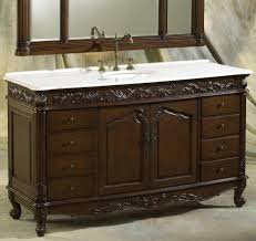 Traditional Bathroom Vanities Bathroom Traditional Bathroom Vanity With Brown Wooden Materials