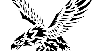 eagle tribal tattoo designs how to draw an eagle tribal tattoo