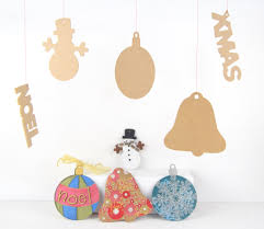 mdf seasonal assortment craft diy shapes xmas christmas