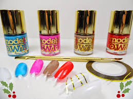 models own diamond luxe nail polish collection christmas gift