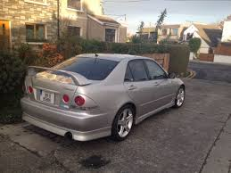 lexus altezza stock used toyota altezza 1999 petrol 2 0 silver for sale in dublin
