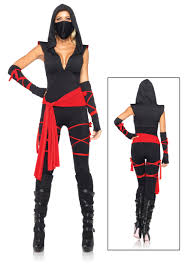 deadly ninja costume idea for a running costume diy clothes