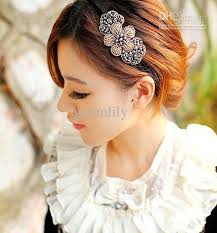 fashion headbands club style fashion women headbands shining rhinestone