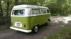 vw minivan camper camper 1970 early bay westfalia low light bay window van