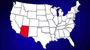 us map arizona state arizona state maps usa maps of arizona az arizona state cliparts