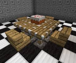 minecraft kitchen furniture kitchen table minecraft furniture