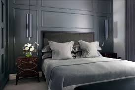 Black Wood Nightstand Bedroom Dark Wood Headboard With Wooden Nightstand Also White