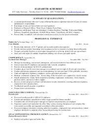 Kronos Resume Elizabeth U0027s Resume 915