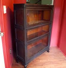 Macey Barrister Bookcase Macey Three Stack Barrister Bookcase Circa Early 1900s Ebth