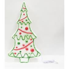 united solutions 28 in christmas tree with light up8055 the