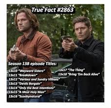 Supernatural Memes - supernatural memes ooo i can t wait for 13x16