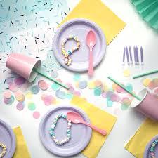 decoration table anniversaire 80 ans kit anniversaire pastel deco fete enfant mixte achat vente