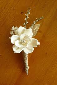 gold boutonniere boutonniere sola wood boutonniere wedding sola corsages white