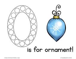 countdown day 6 ornament number cards 1 20