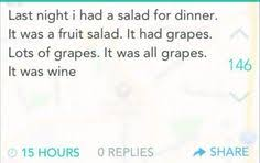 Fruit Salad For Dinner Meme - meaghan put this on the ben meme u have to the three musketeers