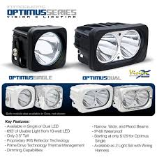 Vision X Light Bar Vision X Lighting Launches Optimus Lights Setting The Bar For