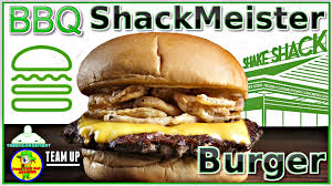 sofa king juicy burgers shake shack bbq shackmeister burger review w peep this out