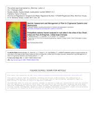 Seismic Risk Map Of The United States by Probabilistic Seismic Hazard Analysis For Rock Sites In The Cities