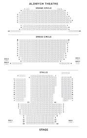 aldwych theatre seating plan londontheatre co uk