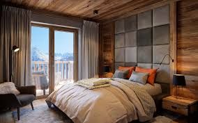chambre en perspective réalisation vue perspective 3d chambre chalet luxe architecte 3d