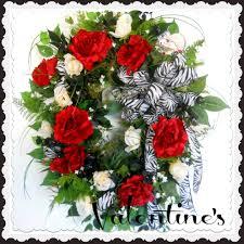 valentine u0027s day wreaths artificial wreaths deco mesh wreaths