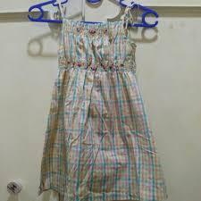 dress anak dress anak kotak kotak on carousell