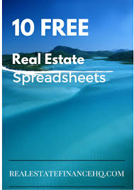 Sample Stock Portfolio Spreadsheet 10 Free Real Estate Spreadsheets Real Estate Finance