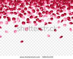 wedding backdrop design vector flowers petals falling effect isolated on stock vector 587401598