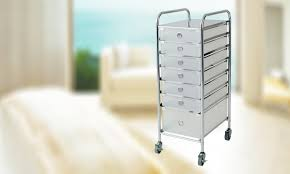 Rolling Storage Cabinet Rolling Storage Cart Pedi Mani Stylist Station Salon Spa Stand