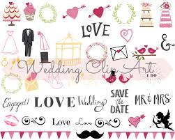 wedding scrapbook stickers wedding digital clip wedding planner wedding stickers