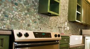 Pebble Backsplash Future Home  Pinterest Cozy Kitchen - Pebble backsplash