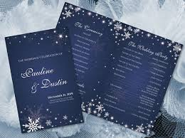 winter wedding programs diy printable wedding program template 2362228 weddbook
