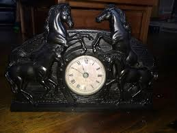 home interior horse pictures home interior horse clock on etsy 28 49 cad vintage cowboy