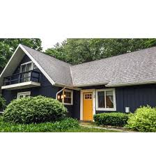 navy house and yellow door home exterior pinterest house