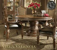 Michael Amini Dining Room Set Villa Valencia Round Table Dining By Aico Aico Dining Room Furniture