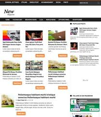 news magazine blogger template 2014 free download