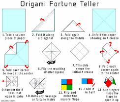 how to fold a paper fortune teller how to make a fortune teller