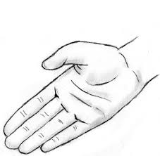 a drawing of a hand drawing of a hand jurrellgraham on deviantart