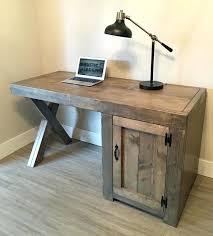 plan de bureau en bois plan de travail pour bureau idee bureau en bois fait maison plan