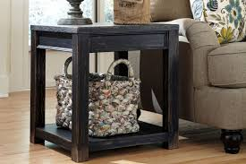 ashley gavelston end table gavelston square end table t732 2 at gardner white