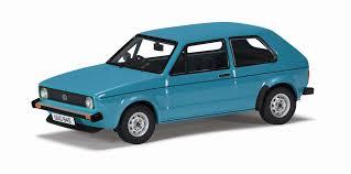 land rover corgi corgi va12008 volkswagen golf mk1 1 1 in miami blue 1 43