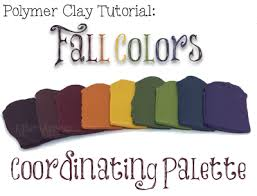 fall 2017 color palette for polymer clay katersacres